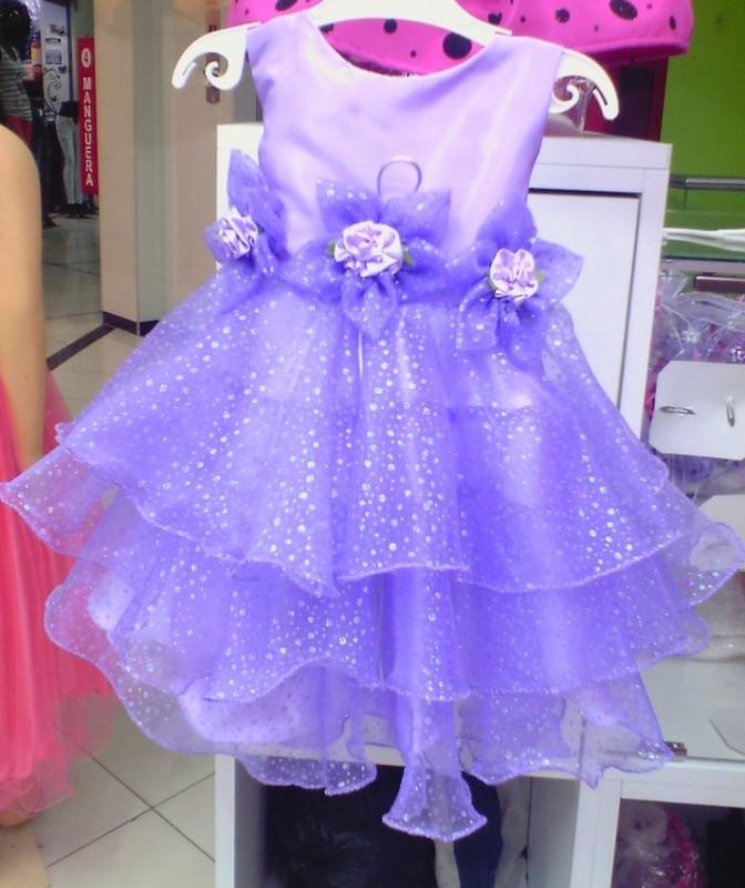 Vestidos para niñas CREACIONES YIA en Gamarra