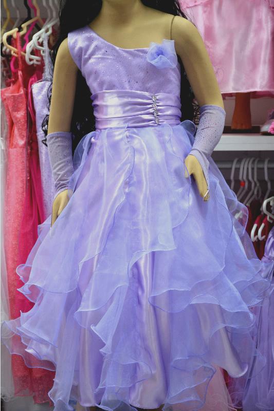 Vestidos de promocion de primaria azul electrico