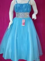 Vestidos de graduacion de sexto grado azul turquesa