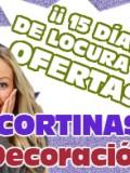 Promoción Cortinas DECO ART en Gamarra.